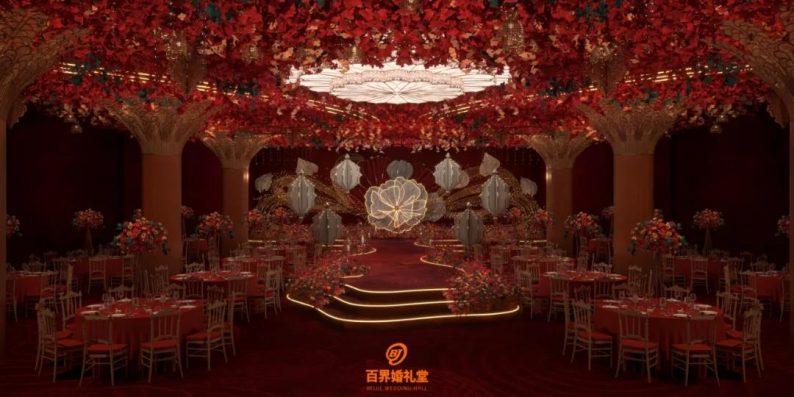 婚礼堂发布:百界倾力打造!占地8000平,七大主题宴会厅  第8张
