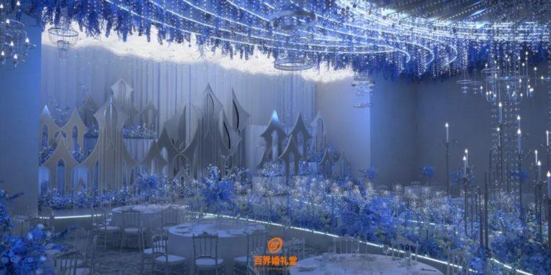 婚礼堂发布:百界倾力打造!占地8000平,七大主题宴会厅  第12张