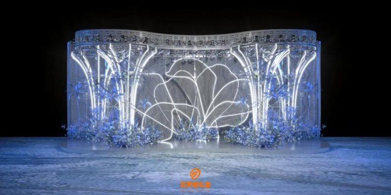 婚礼堂发布:百界倾力打造!占地8000平,七大主题宴会厅  第13张