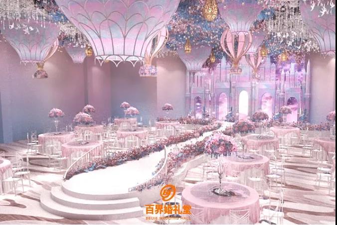婚礼堂发布:百界倾力打造!占地8000平,七大主题宴会厅  第14张