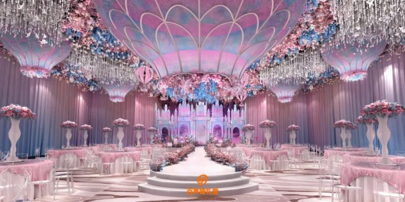 婚礼堂发布:百界倾力打造!占地8000平,七大主题宴会厅  第16张