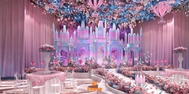 婚礼堂发布:百界倾力打造!占地8000平,七大主题宴会厅  第17张