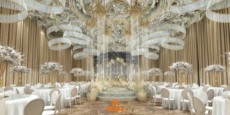 婚礼堂发布:百界倾力打造!占地8000平,七大主题宴会厅  第18张