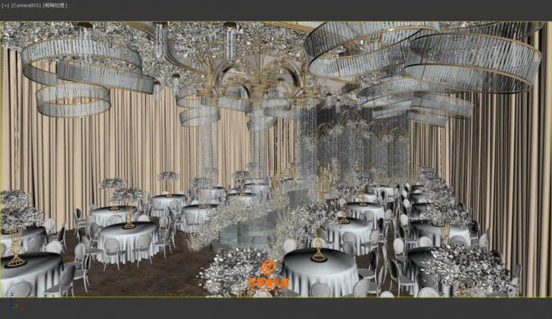 婚礼堂发布:百界倾力打造!占地8000平,七大主题宴会厅  第21张