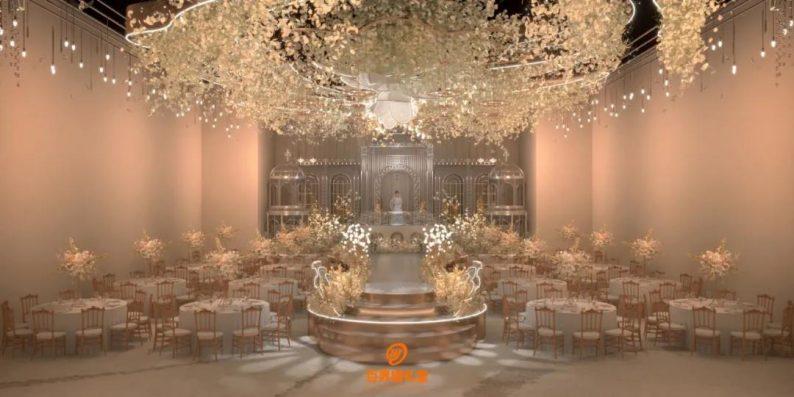 婚礼堂发布:百界倾力打造!占地8000平,七大主题宴会厅  第22张