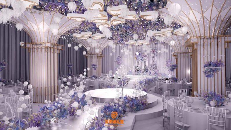 婚礼堂发布:百界倾力打造!占地8000平,七大主题宴会厅  第23张