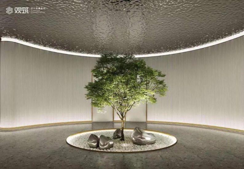 婚礼堂发布:6大宴会厅!观筑设计呈现无锡首家全品类婚礼艺术中心  第2张
