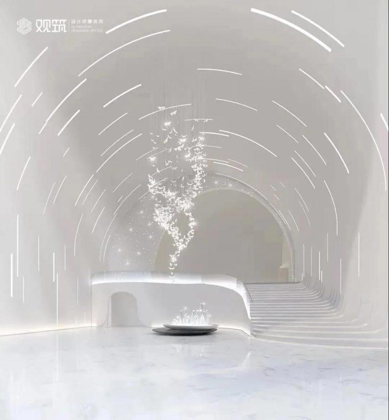 婚礼堂发布:6大宴会厅!观筑设计呈现无锡首家全品类婚礼艺术中心  第3张