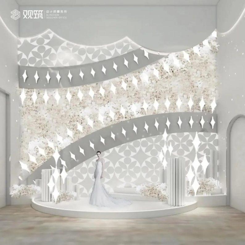 婚礼堂发布:6大宴会厅!观筑设计呈现无锡首家全品类婚礼艺术中心  第6张