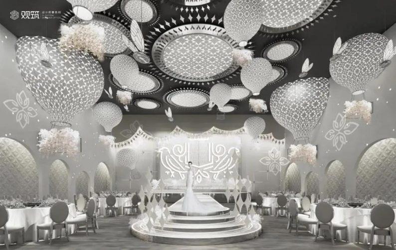 婚礼堂发布:6大宴会厅!观筑设计呈现无锡首家全品类婚礼艺术中心  第7张