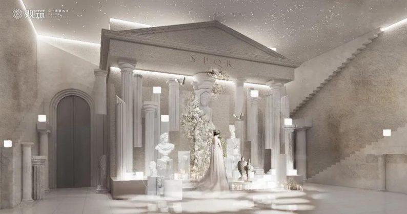 婚礼堂发布:6大宴会厅!观筑设计呈现无锡首家全品类婚礼艺术中心  第10张