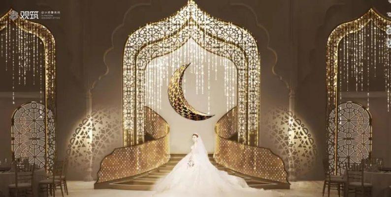 婚礼堂发布:6大宴会厅!观筑设计呈现无锡首家全品类婚礼艺术中心  第15张