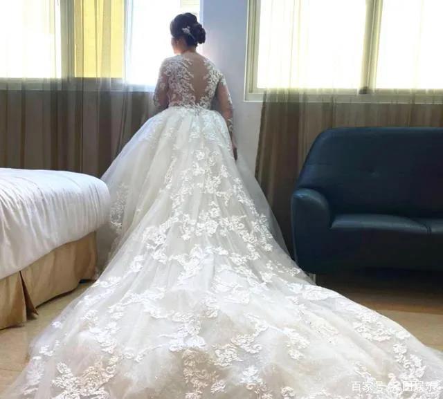 婚宴摆118桌!台湾女星嫁金门望族  第3张
