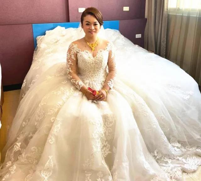 婚宴摆118桌!台湾女星嫁金门望族  第4张