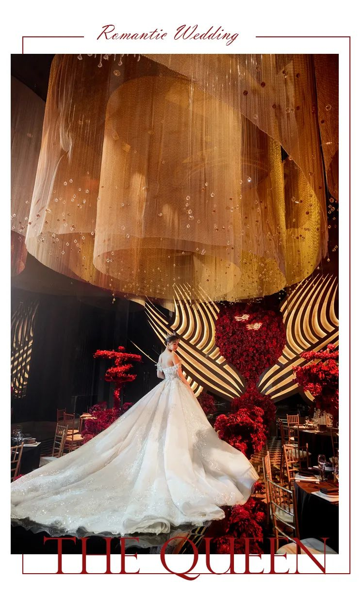 婚礼堂发布:花嫁丽舍X蔡上,打造2021《皇冠上的宝石》  第8张