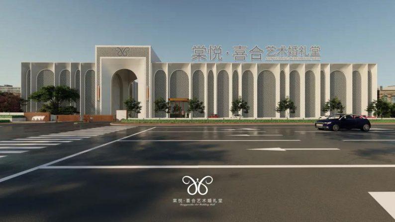 婚礼堂发布:1.5万平,总投资8千万!一厅一花园特别设计