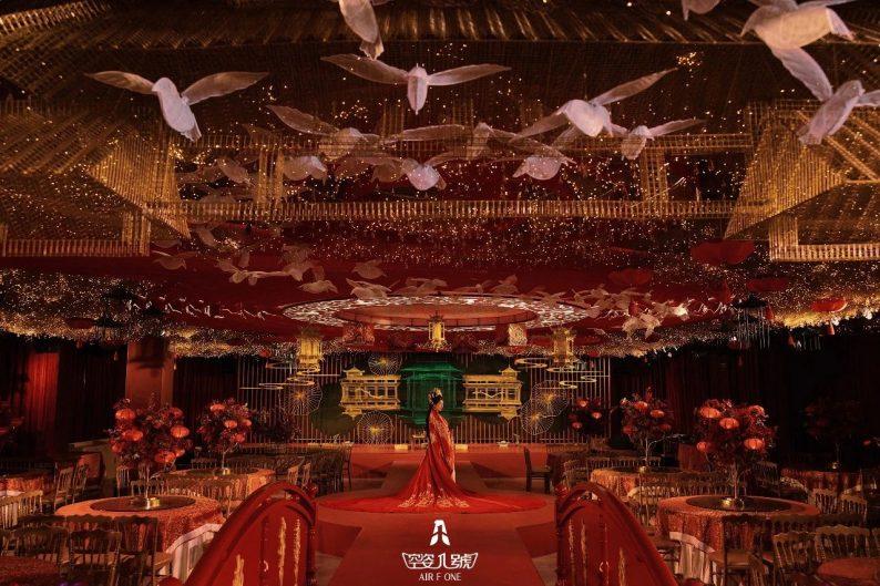 婚礼堂发布:总面积近4000平!福州大型主题婚宴酒楼  第6张