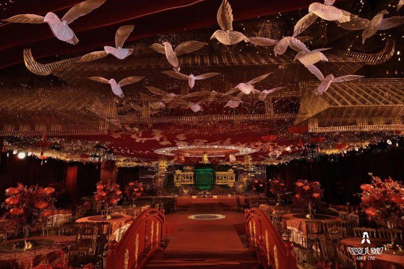 婚礼堂发布:总面积近4000平!福州大型主题婚宴酒楼
