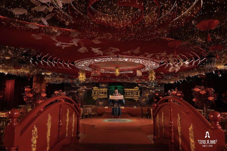 婚礼堂发布:总面积近4000平!福州大型主题婚宴酒楼  第8张