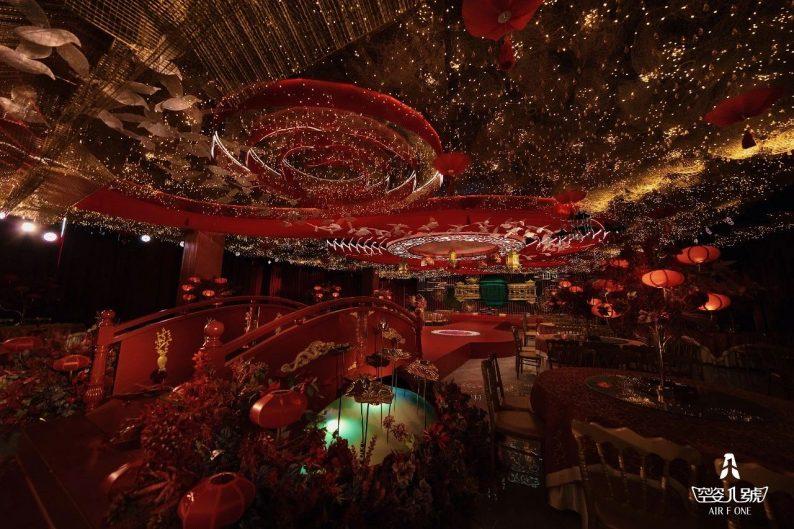 婚礼堂发布:总面积近4000平!福州大型主题婚宴酒楼  第9张