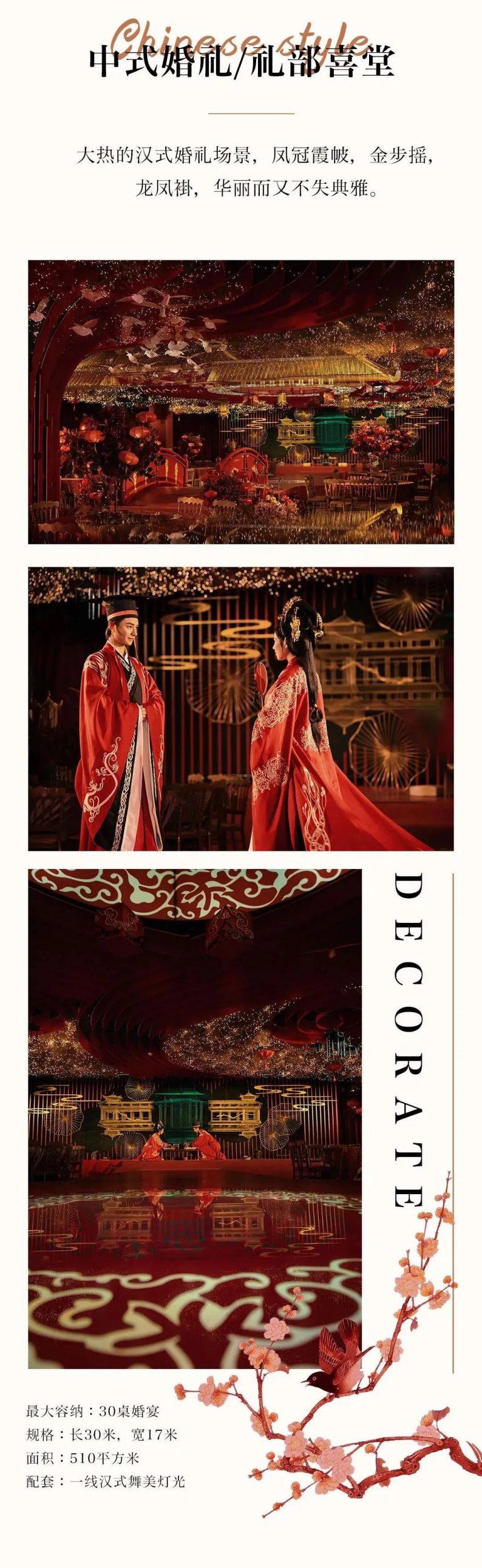 婚礼堂发布:总面积近4000平!福州大型主题婚宴酒楼  第5张