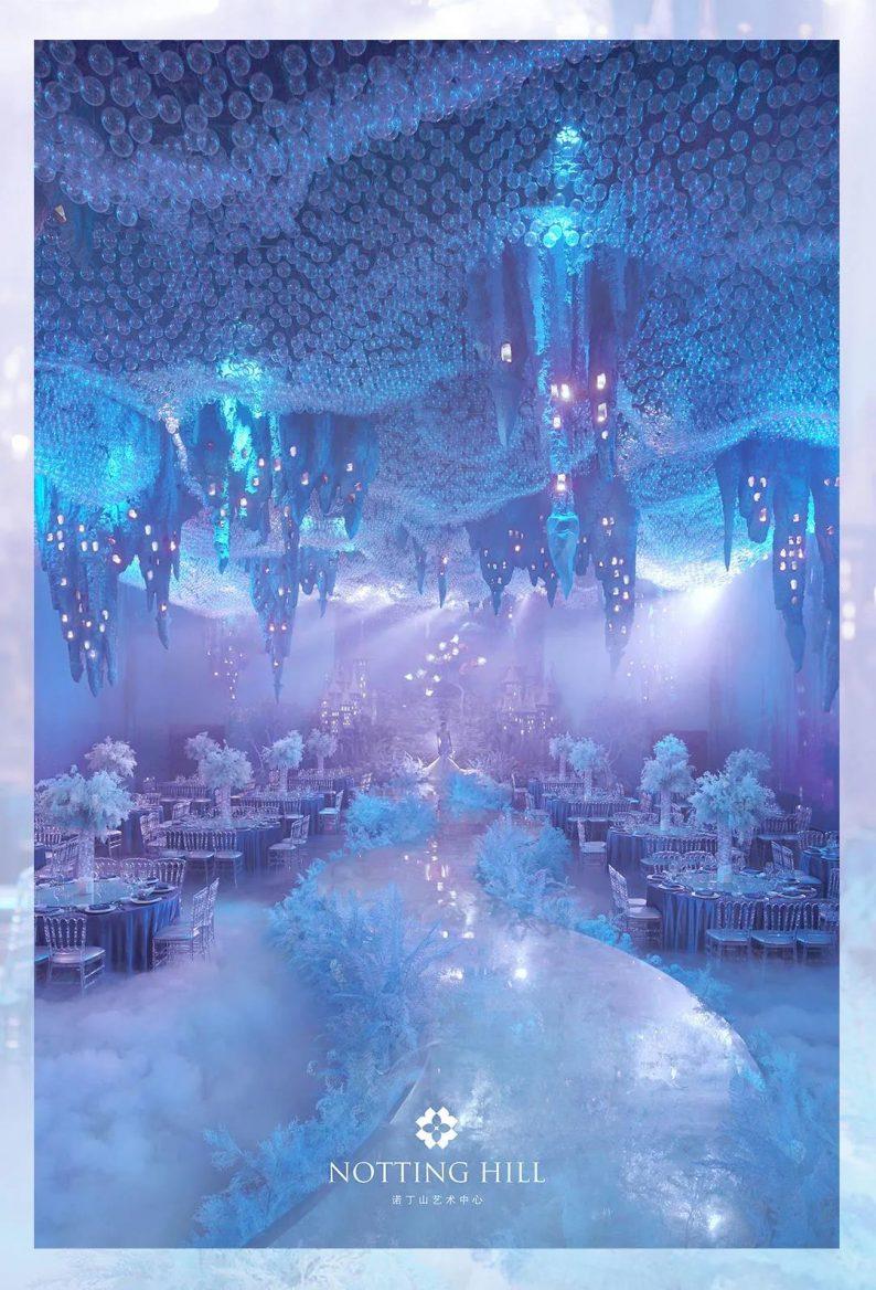 全国6大门店!诺丁山艺术中心近30个百万级宴会厅  第51张