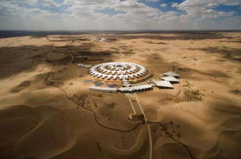 世界最美的建筑:中国响沙湾莲花酒店!  第3张