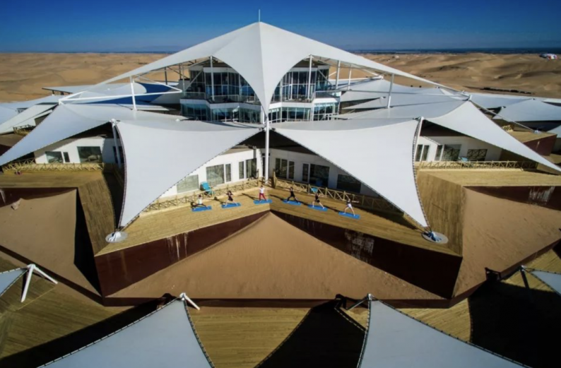 世界最美的建筑:中国响沙湾莲花酒店!  第8张
