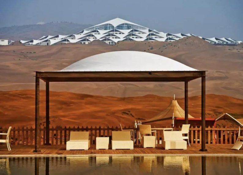 世界最美的建筑:中国响沙湾莲花酒店!  第9张