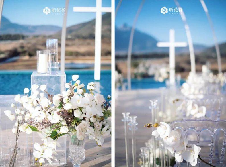 婚礼堂发布:雪山下的圣洁礼堂,丽江婚礼新地标  第5张
