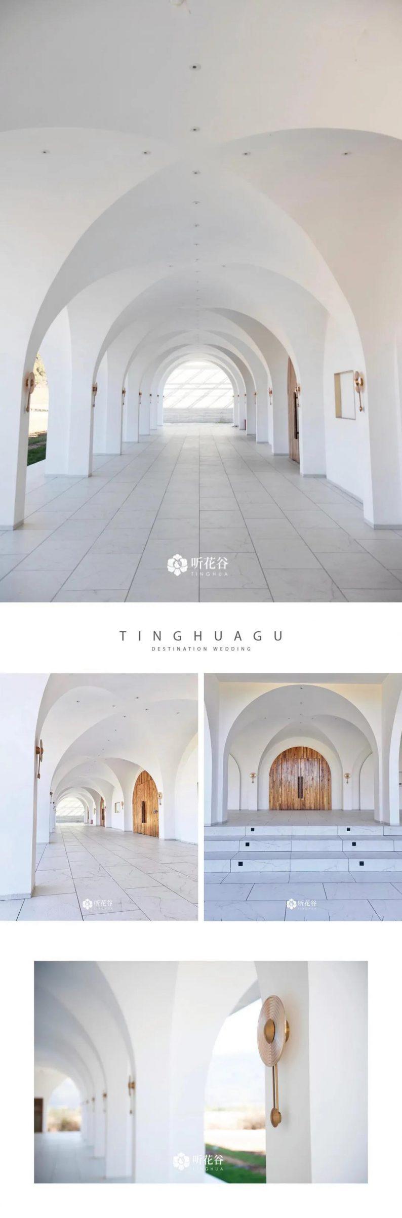 婚礼堂发布:雪山下的圣洁礼堂,丽江婚礼新地标  第9张