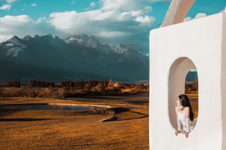 婚礼堂发布:雪山下的圣洁礼堂,丽江婚礼新地标  第19张