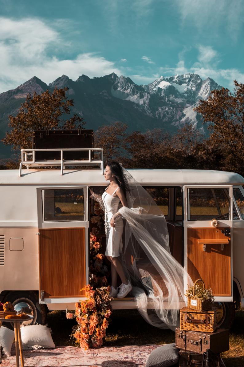 婚礼堂发布:雪山下的圣洁礼堂,丽江婚礼新地标  第22张