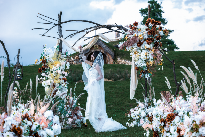 婚礼堂发布:雪山下的圣洁礼堂,丽江婚礼新地标  第26张