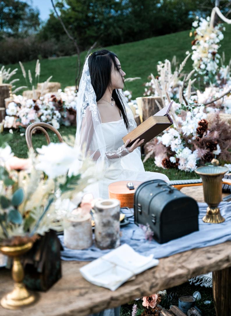 婚礼堂发布:雪山下的圣洁礼堂,丽江婚礼新地标  第27张
