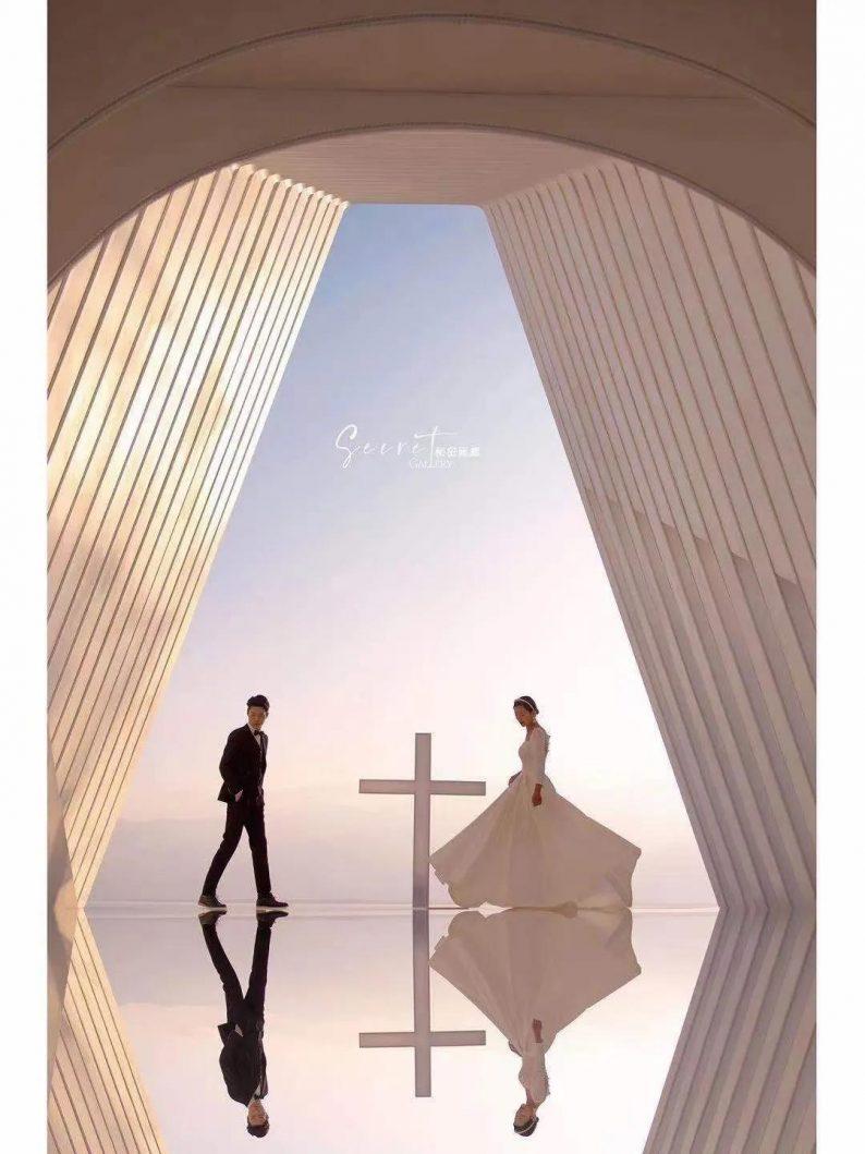 婚礼堂发布:斥资4000万!大理网红婚礼旅拍打卡地全新亮相  第9张