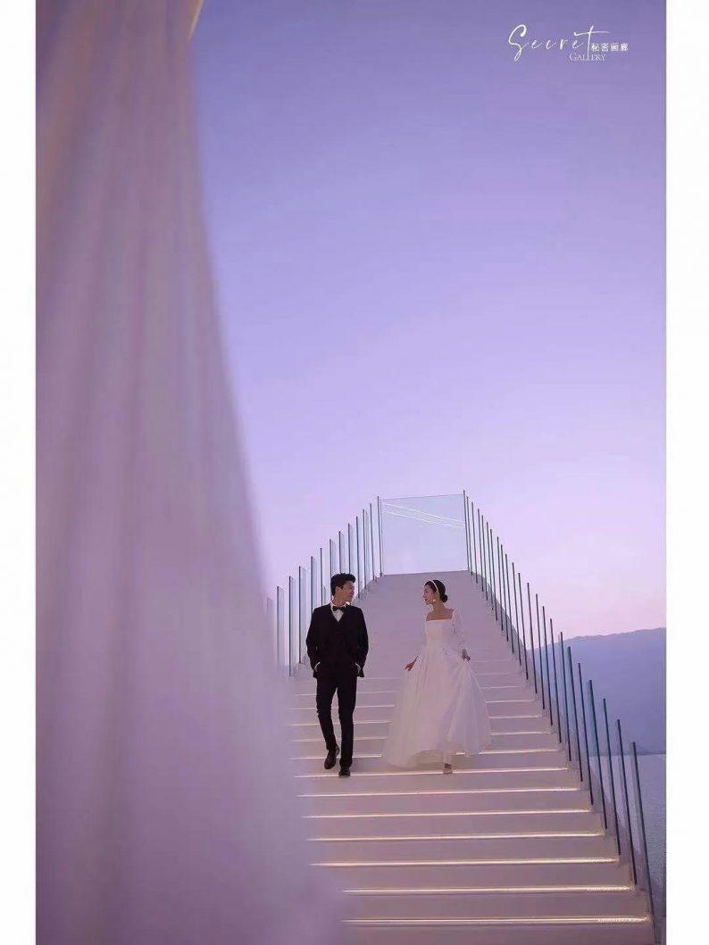 婚礼堂发布:斥资4000万!大理网红婚礼旅拍打卡地全新亮相  第10张