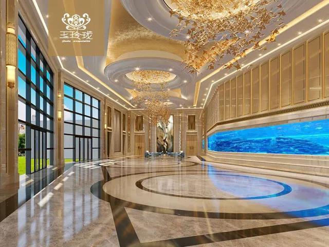 婚礼堂发布:赖梓愈、蔡上设计!占地8000平,万和集团旗下婚礼堂  第3张