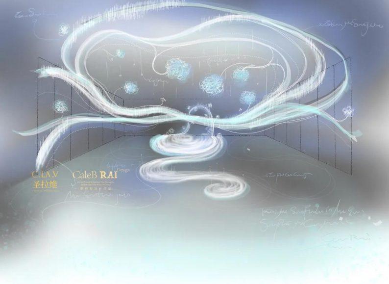 婚礼堂发布:圣拉维 X 赖梓愈,6000平超大艺术空间全球首发  第4张