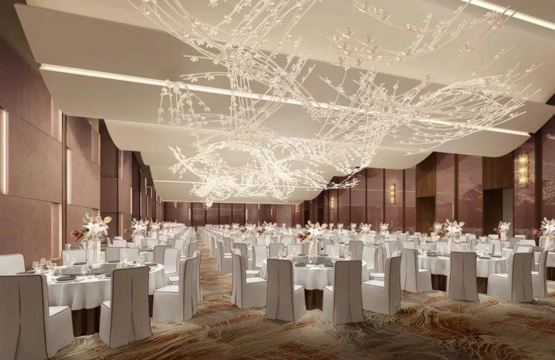 婚礼堂发布:1万平、8大宴会厅!小天鹅酒店管理集团扛鼎力作  第6张