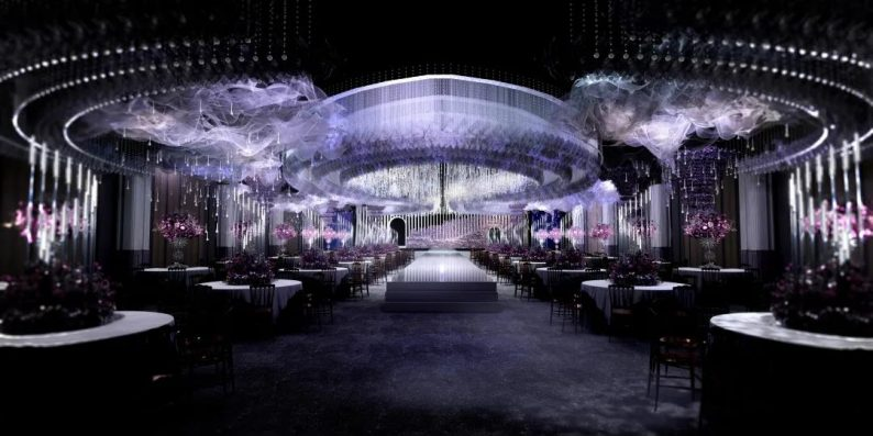 婚礼堂发布:新年首献!皇家花园 x 徐丹,高级感品质婚礼  第17张