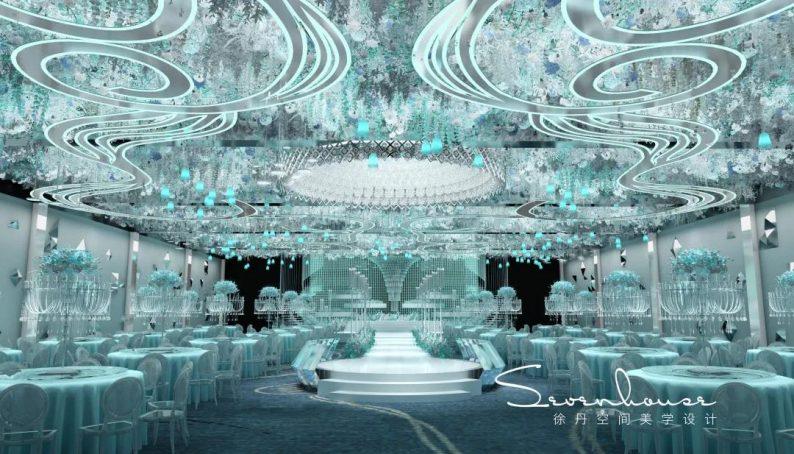 婚礼堂发布:新年首献!皇家花园 x 徐丹,高级感品质婚礼  第19张