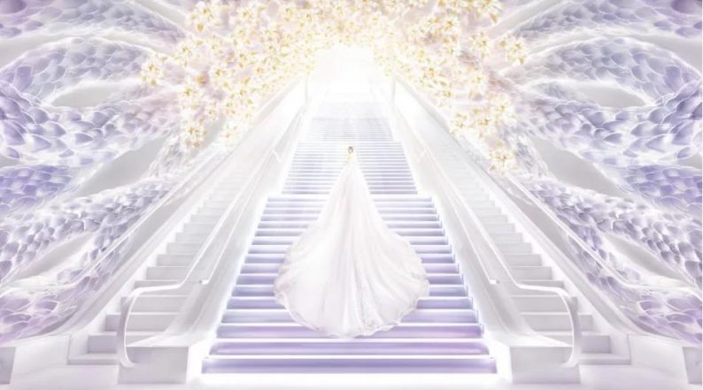 婚礼堂发布:蔡上操刀!8000平民生尊府打造陕西宴会标杆