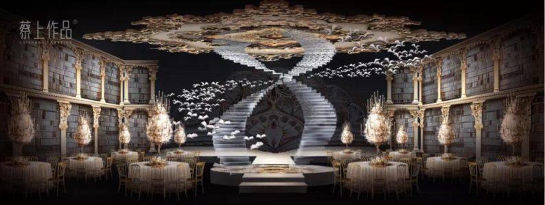 婚礼堂发布:蔡上操刀!8000平民生尊府打造陕西宴会标杆  第11张