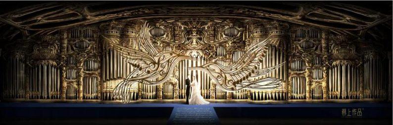 婚礼堂发布:蔡上操刀!8000平民生尊府打造陕西宴会标杆  第5张