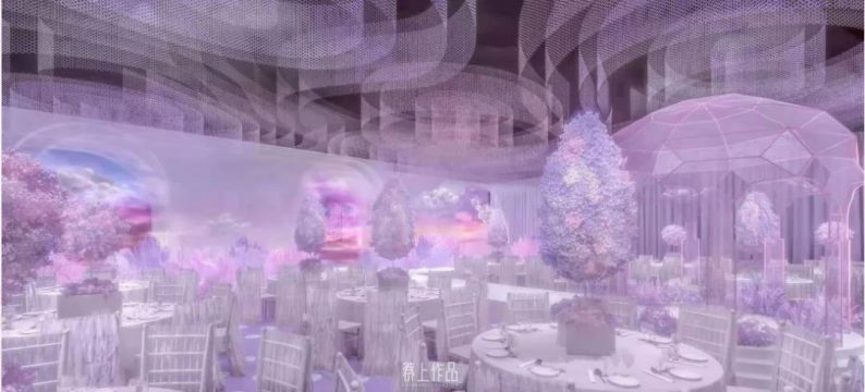 婚礼堂发布:蔡上操刀!8000平民生尊府打造陕西宴会标杆  第13张