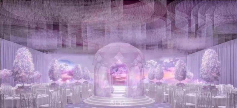 婚礼堂发布:蔡上操刀!8000平民生尊府打造陕西宴会标杆  第14张
