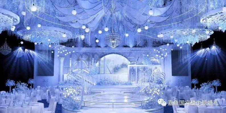 婚礼堂发布:嘉鱼国宾楼,六线城市一站式主题婚礼堂  第2张