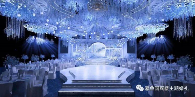 婚礼堂发布:嘉鱼国宾楼,六线城市一站式主题婚礼堂  第3张