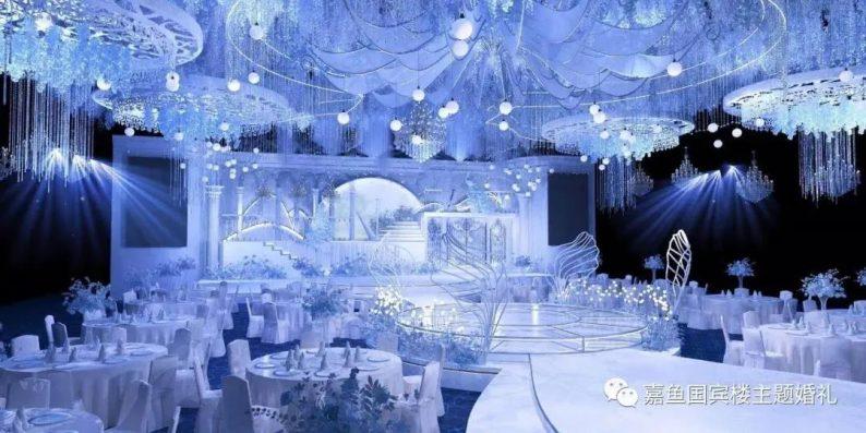 婚礼堂发布:嘉鱼国宾楼,六线城市一站式主题婚礼堂  第4张